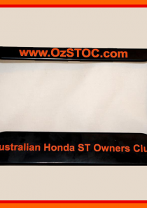 OzSTOC Number Plate Frame