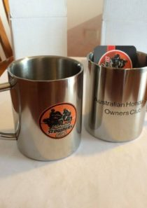 OzSTOC Metal Thermal Coffee Cup